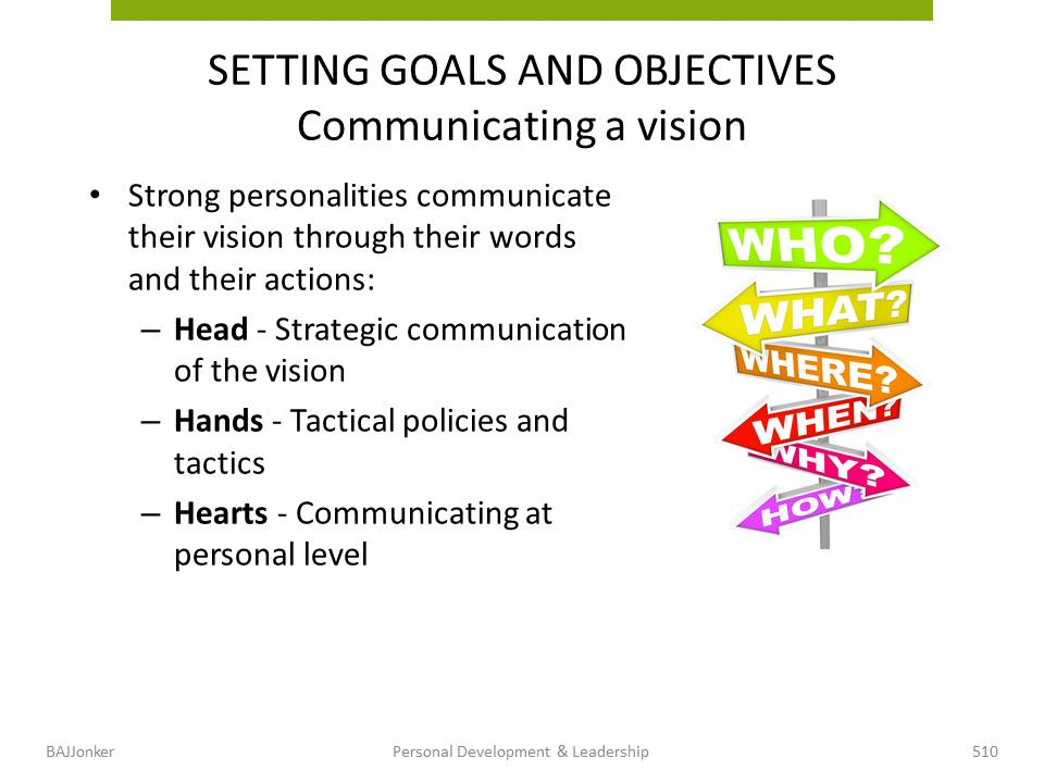 JBMS.nl - PDL setting goals and objectives